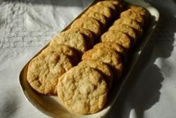 recette sans gluten de cookies aux pépites de chocolat blanc