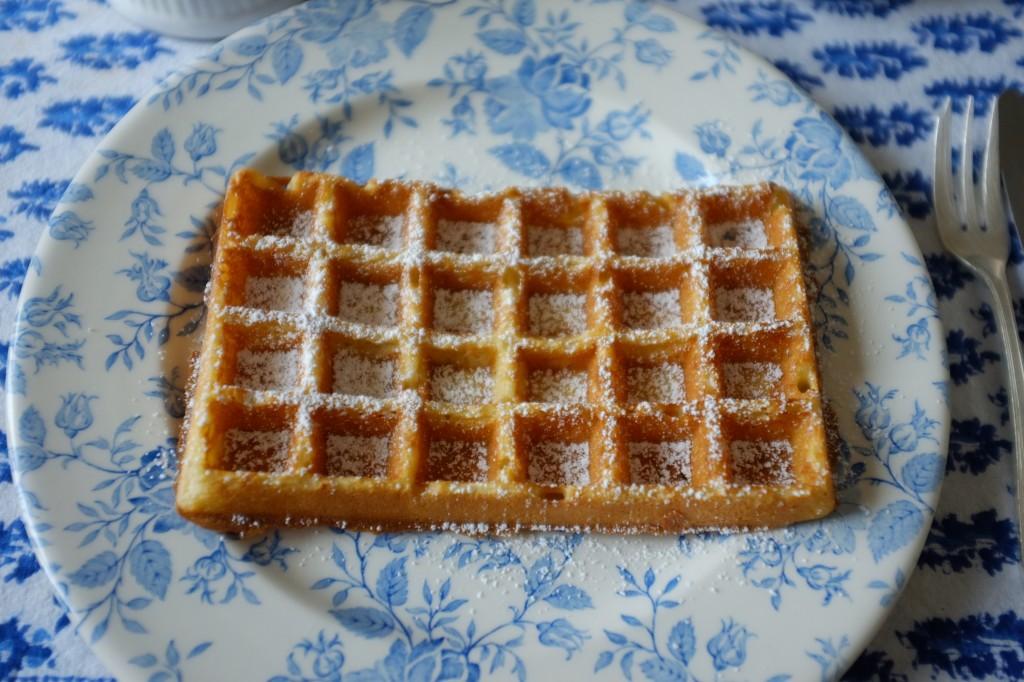 """Le gaufre sans gluten, inspiré de la gaufre traditionnelle """"Belge"""""""
