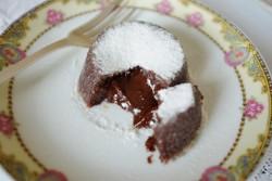 recette sans gluten de fondant expresso-chocolat