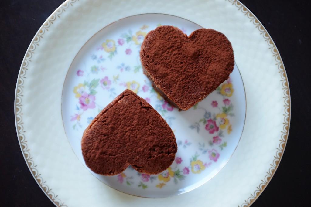 Les brownies sans gluten au chocolat pour la Saint Valentin