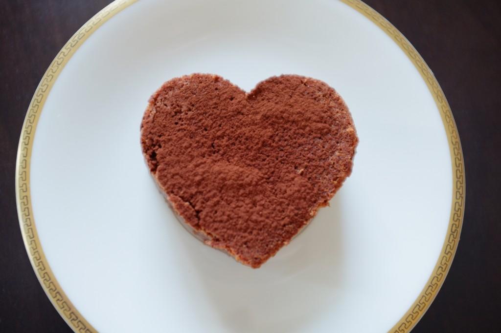 Le brownien chocolat sans gluten pour la Saint Valentin