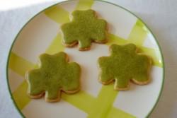 recette sans gluten de biscuit trèfle Irlandais pour la St Patrick