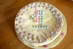 recette sans gluten de gâteau à la framboise pour Ava
