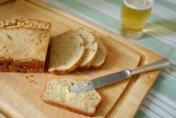 recette sans gluten de pain à la bière et cumin
