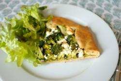 recette sans gluten de tarte rustique aux brocolis