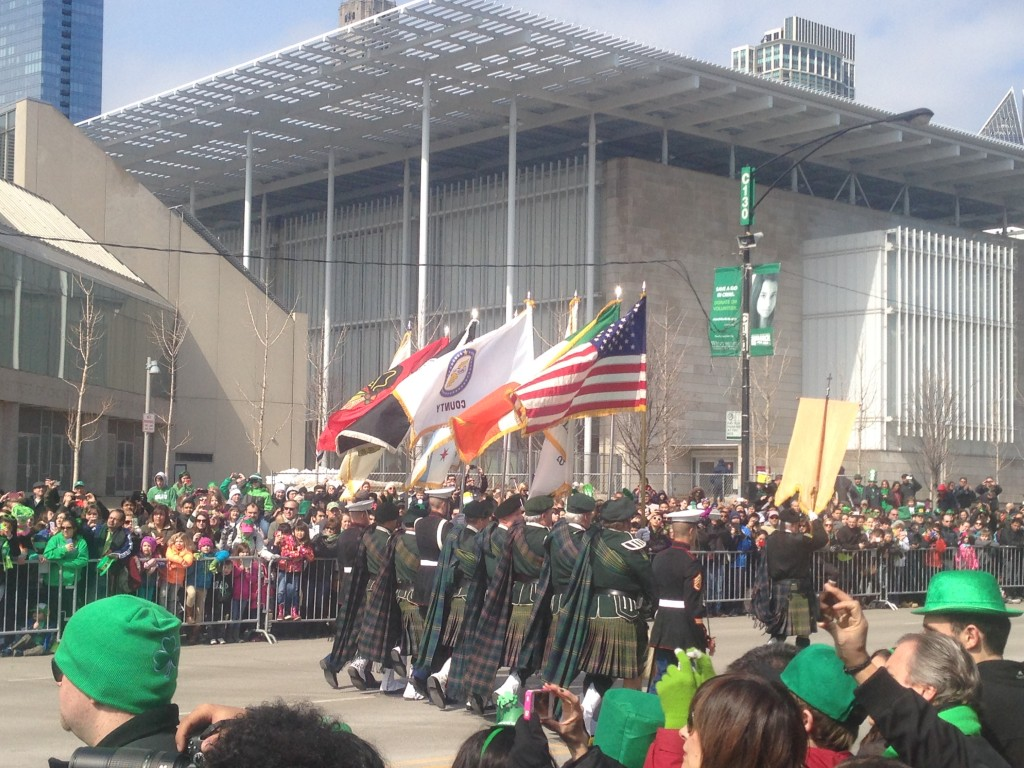 Un aperçu de la Parade de St Patrick, samedi 15 mars 2014