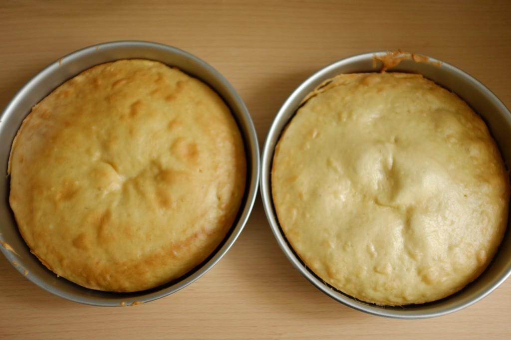 Les gâteaux sans gluten à la noix de coco à la sortie du four