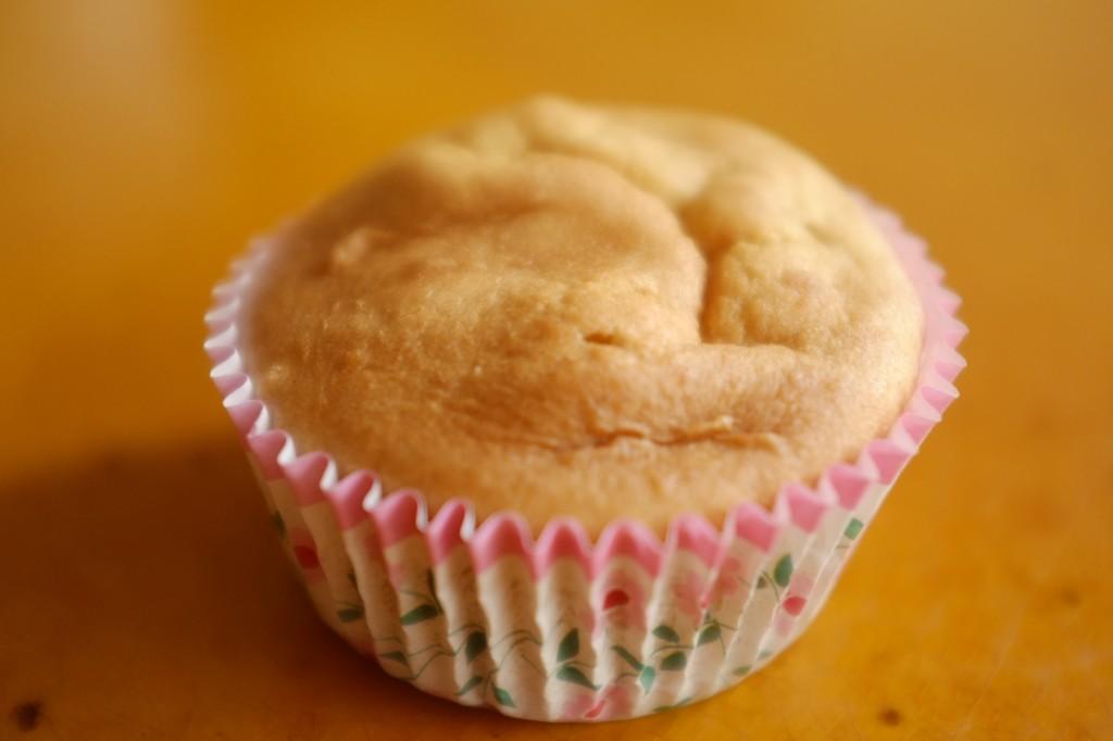 le cupcake sans gluten à la noix de coco