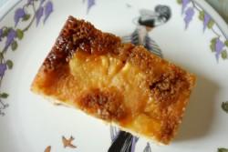 Recette sans gluten de gâteau retourné à l'ananas