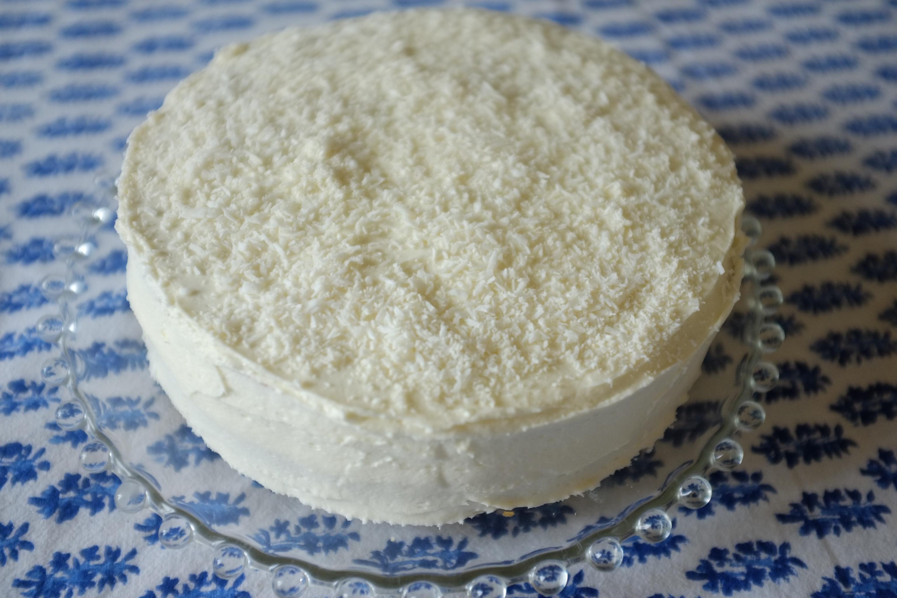 Gateau avec farine de noix