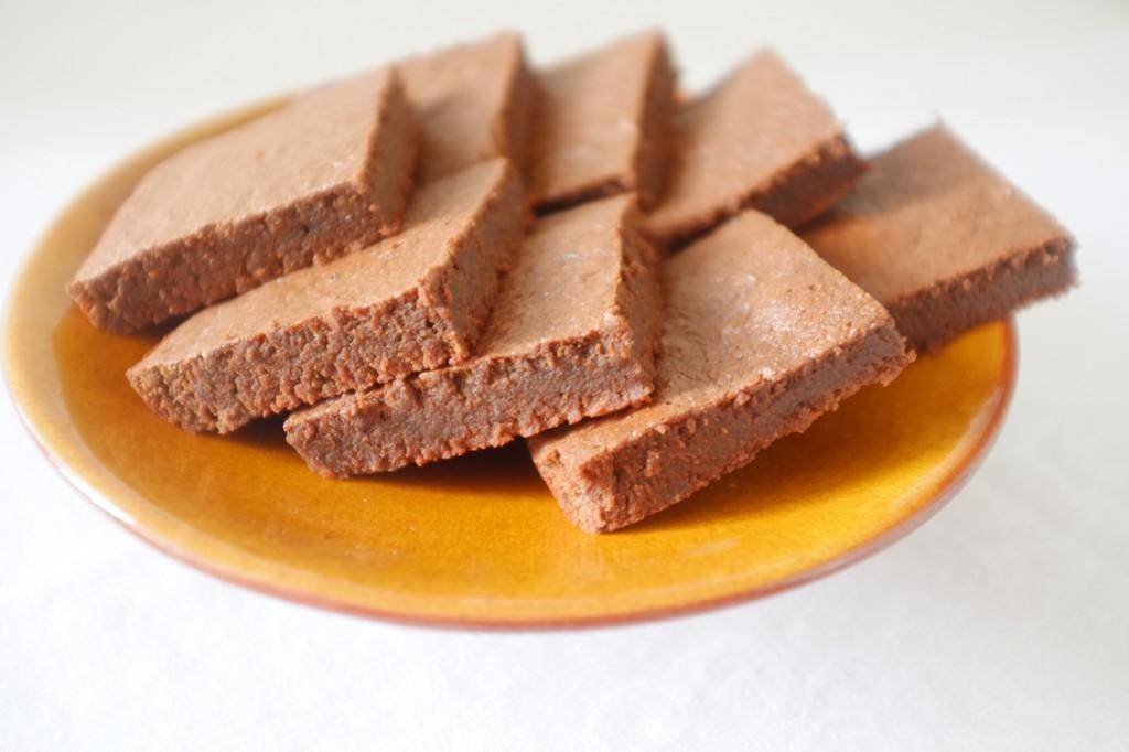 Le brownie fondant au moka sans gluten