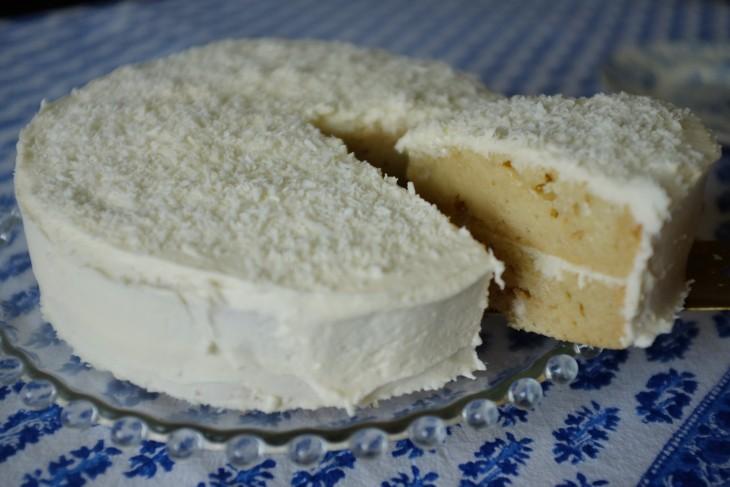 Recette sans gluten de gâteau à la noix de coco