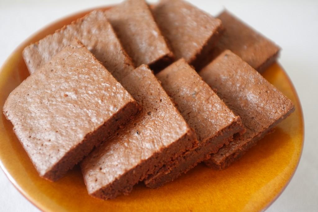 Le brownie fondant au moka, inspiré du régime Paléo
