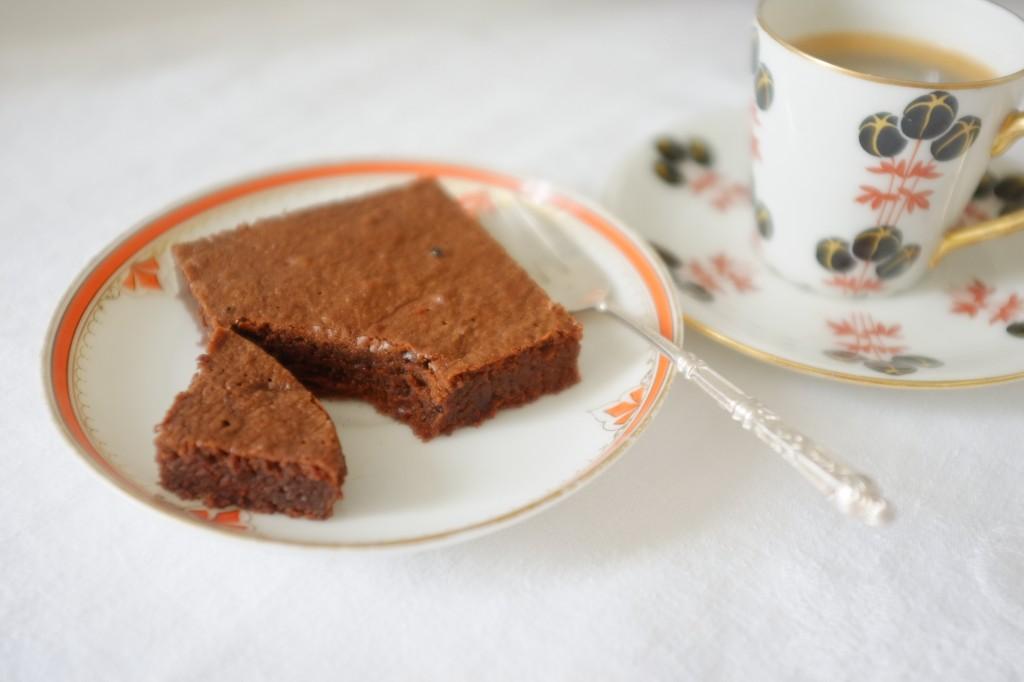 Le brownie fondant au moka sans gluten, inspiré du régime Paléo