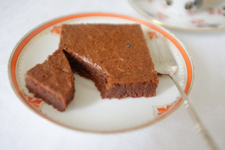 recette sans gluten de brownie fondant au moka (Paléo)