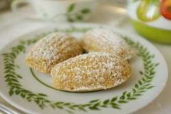 recette sans gluten de madeleine à la farine de Souchet