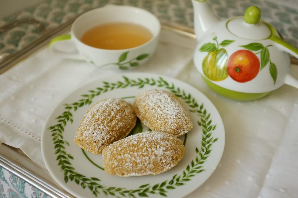 Les madeleines sans gluten à la farine de Souchet
