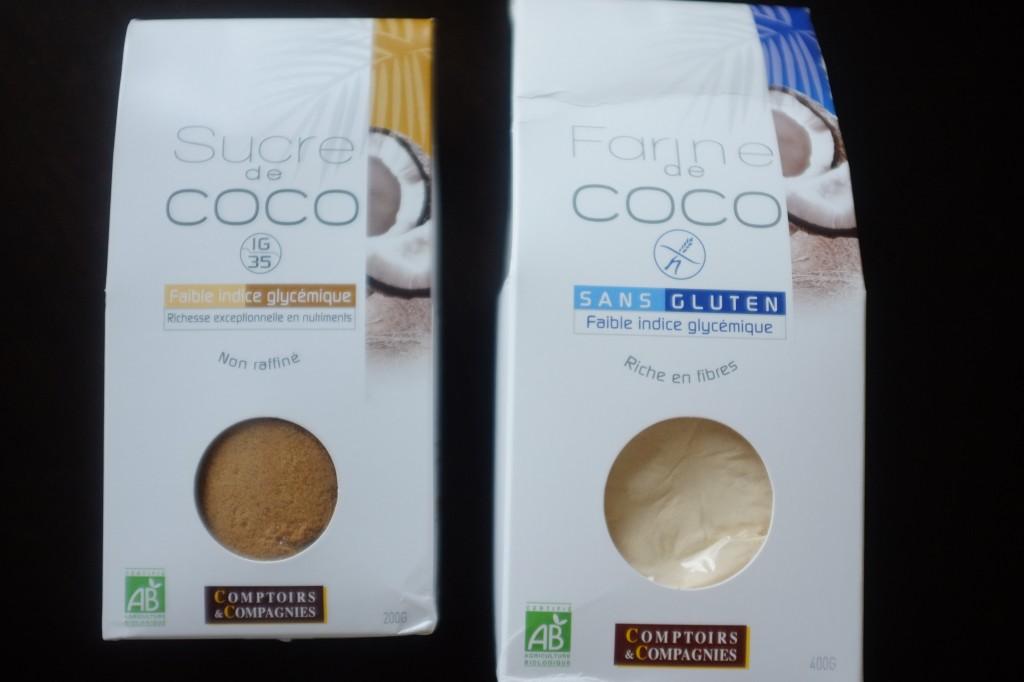 La farine de noix de coco m'a été envoyé pour test dans ma cuisine par le site: www.vivre-mieux.com.