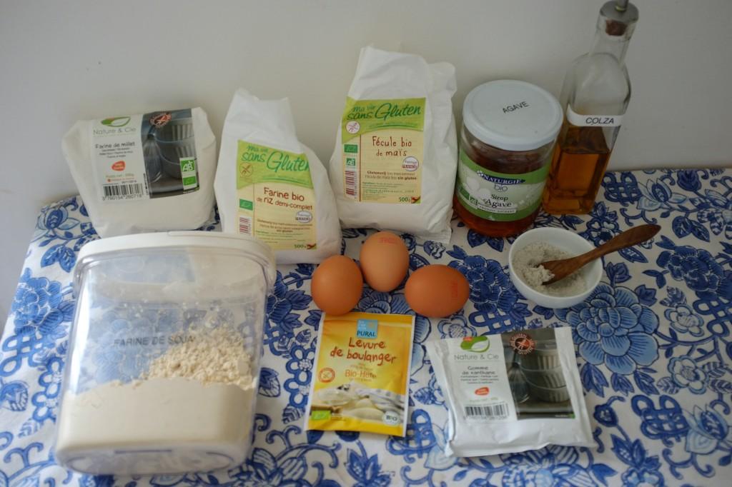 Les ingrédients sans gluten pour le pain du quotidien