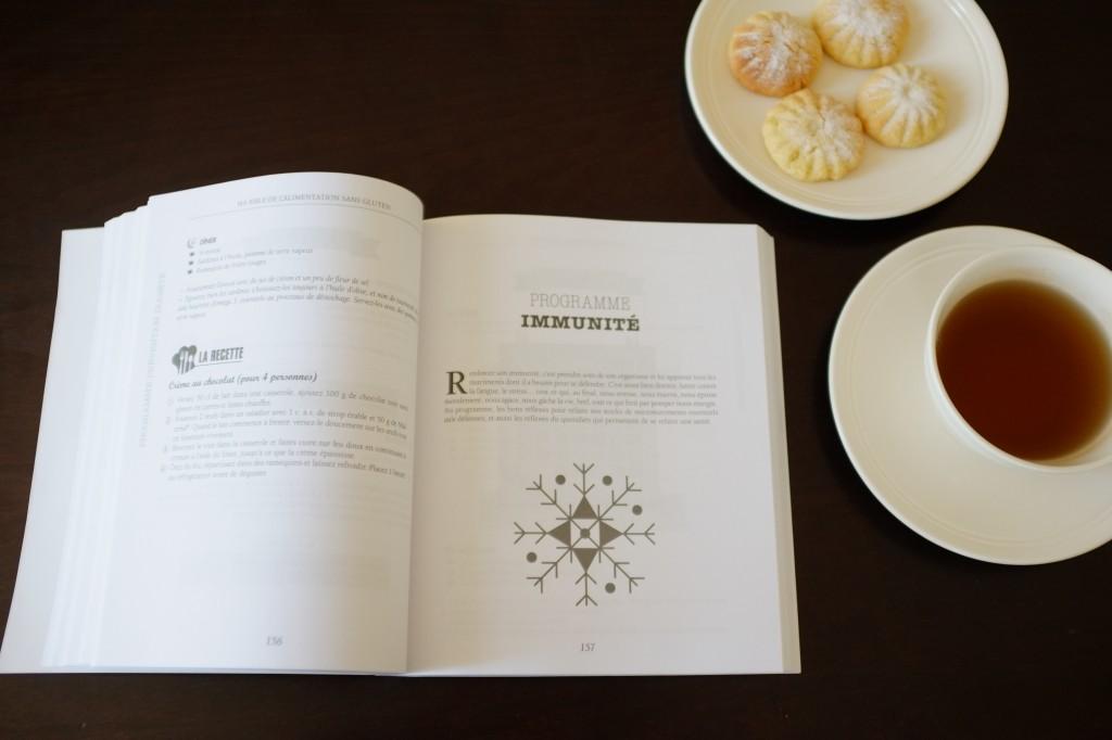 """Le chapitre sur les régimes """"programme sur mesure"""" avec mon préféré: l'immunité"""