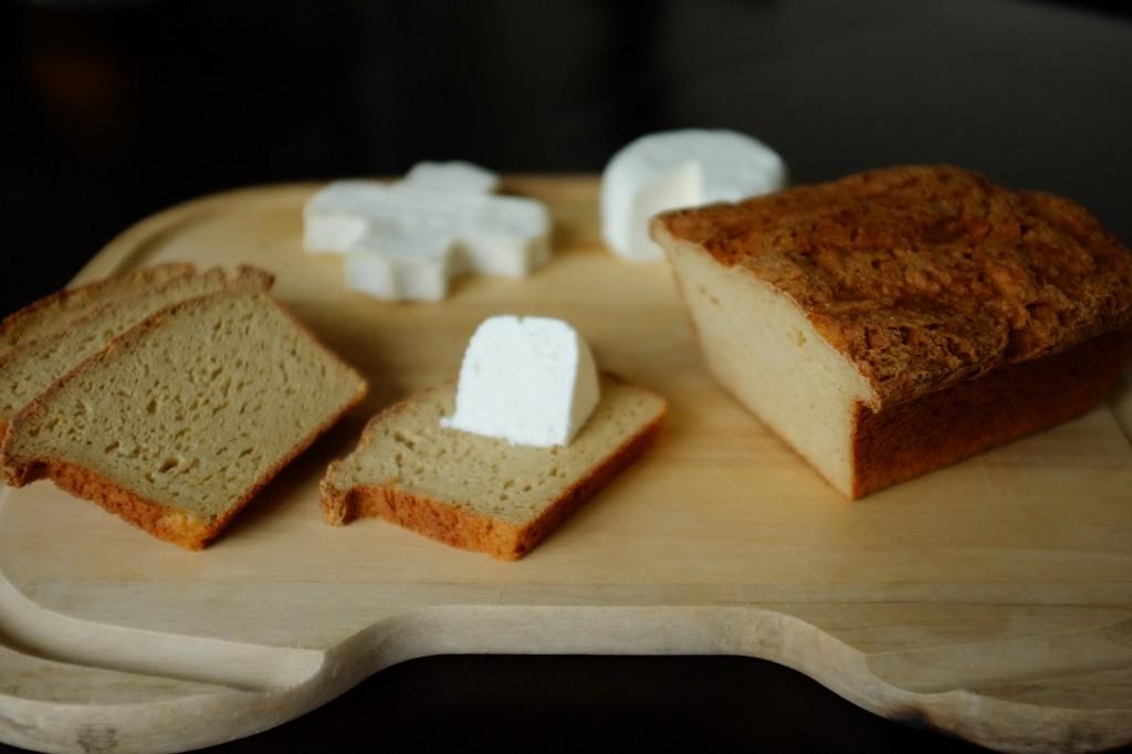 Mon pain sans gluten du quotidien pour accompagner les fromages