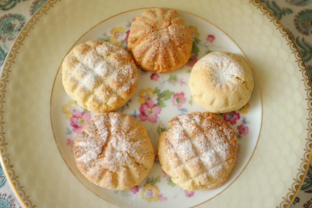Les gâteaux marocains Ghriba sans gluten