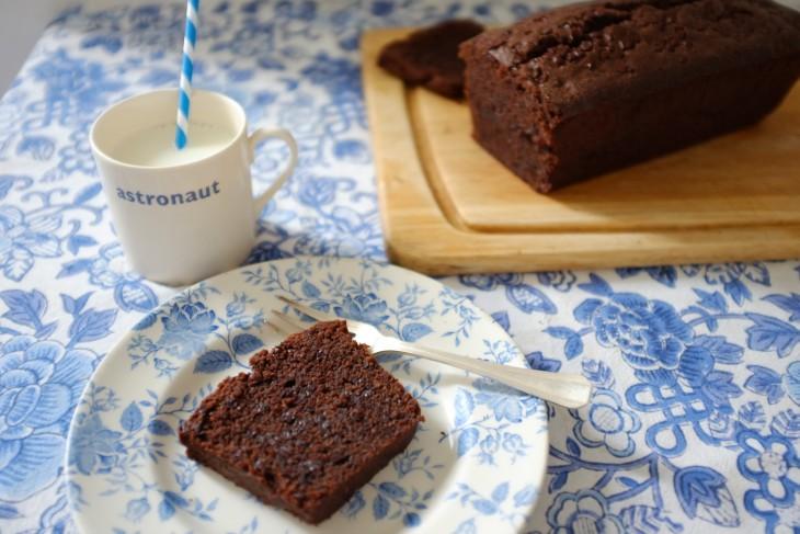recette sans gluten de cake aux deux chocolats