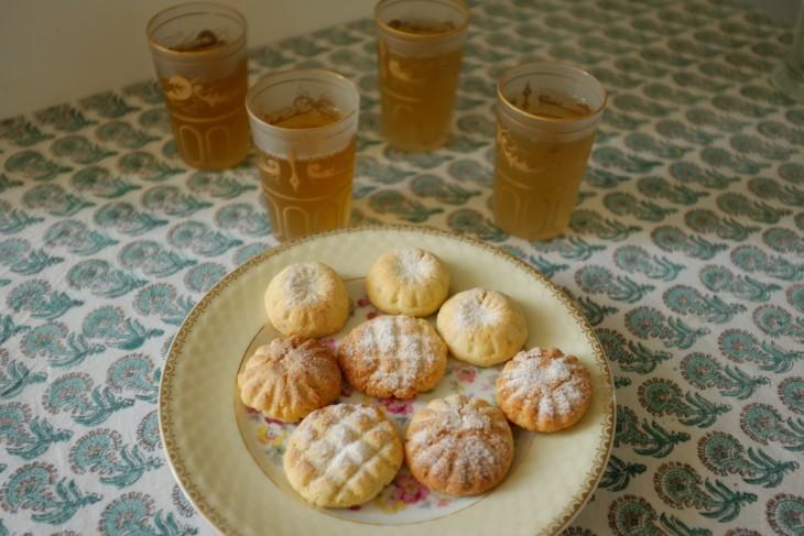 recette sans gluten de gâteau marocain Ghriba