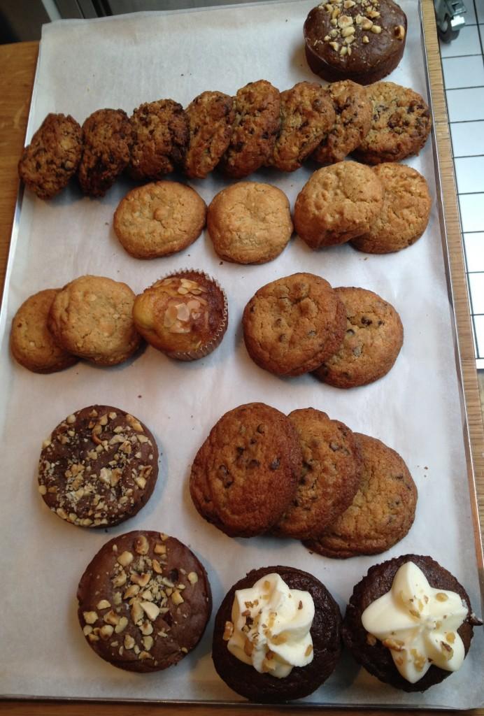Les patisserie de chez Noglu, leur cookie au pépites de chocolat sont absolument délicieux...