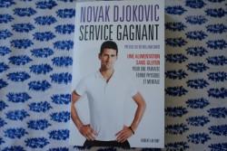 Livre «Service Gagnant» N.Djokovic et salade de soba épicée