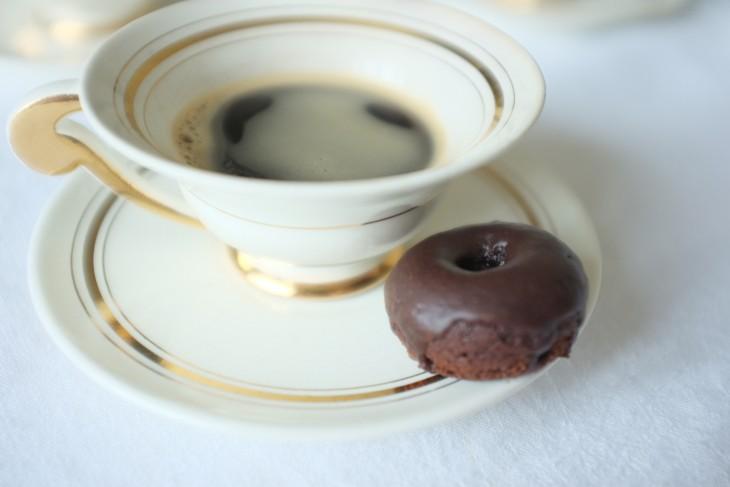 recette sans gluten de mini-donuts au chocolat