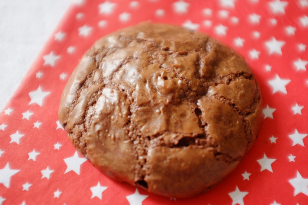 le cookie-brownie sans gluten au chocolat