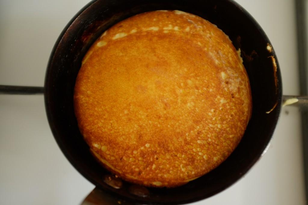 Le côté recto du pancake express