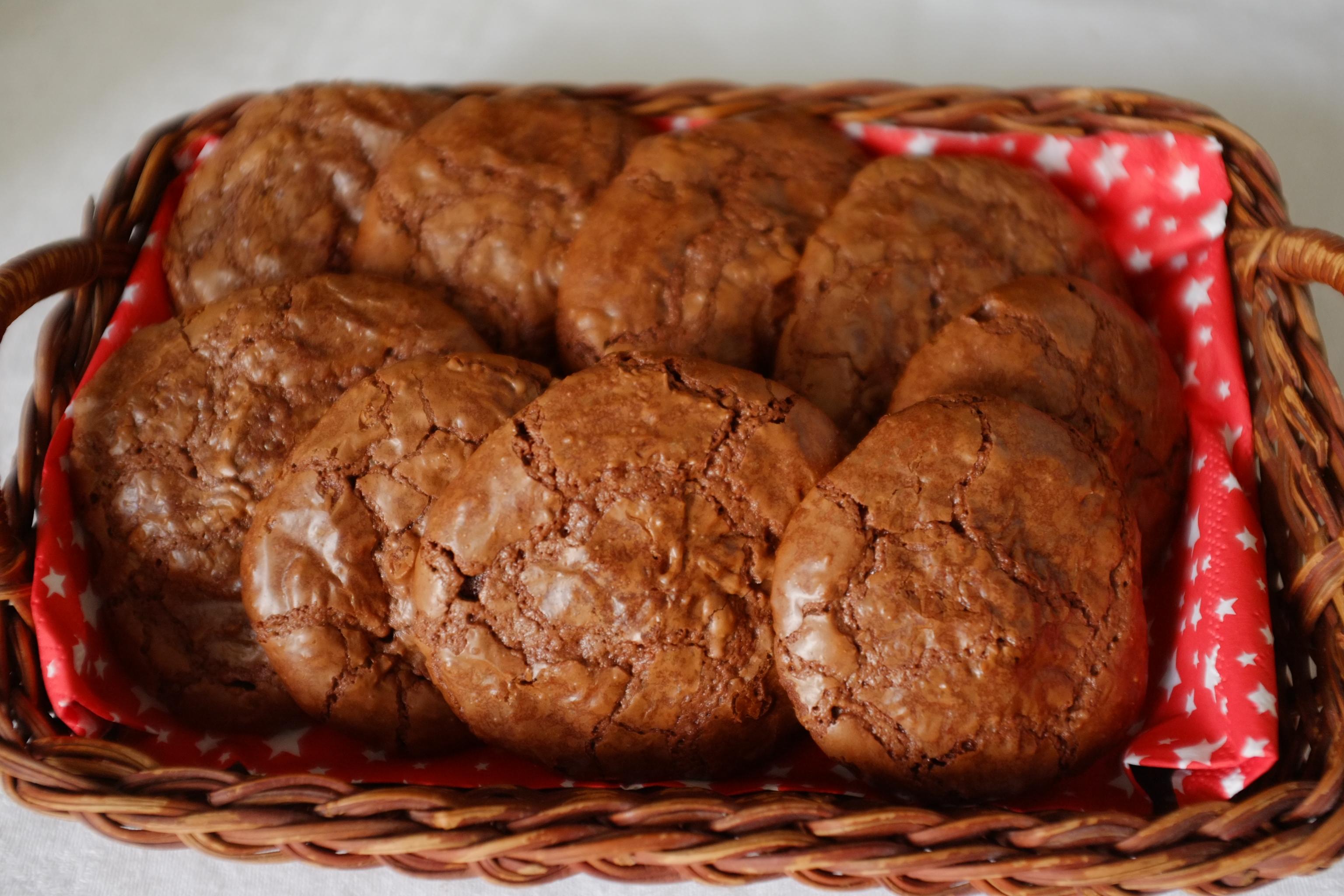 Clem sans gluten - Recette cookies chocolat moelleux ...