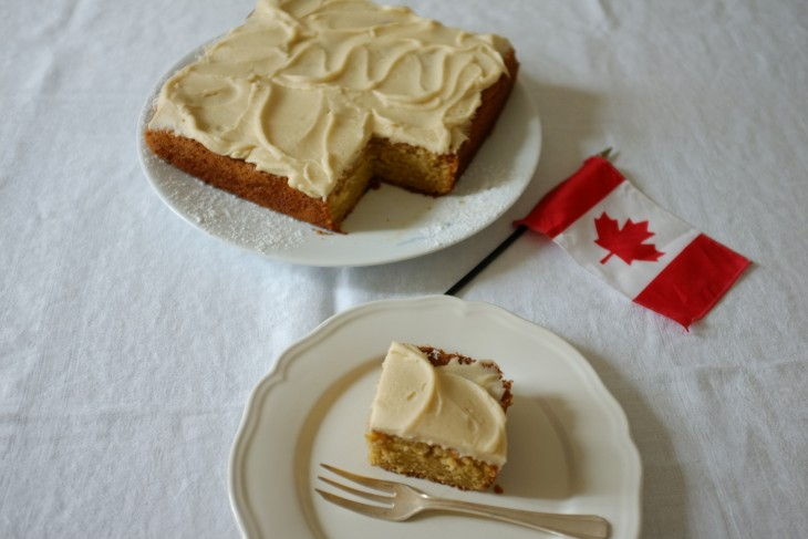 recette sans gluten de gâteau au sirop d'érable