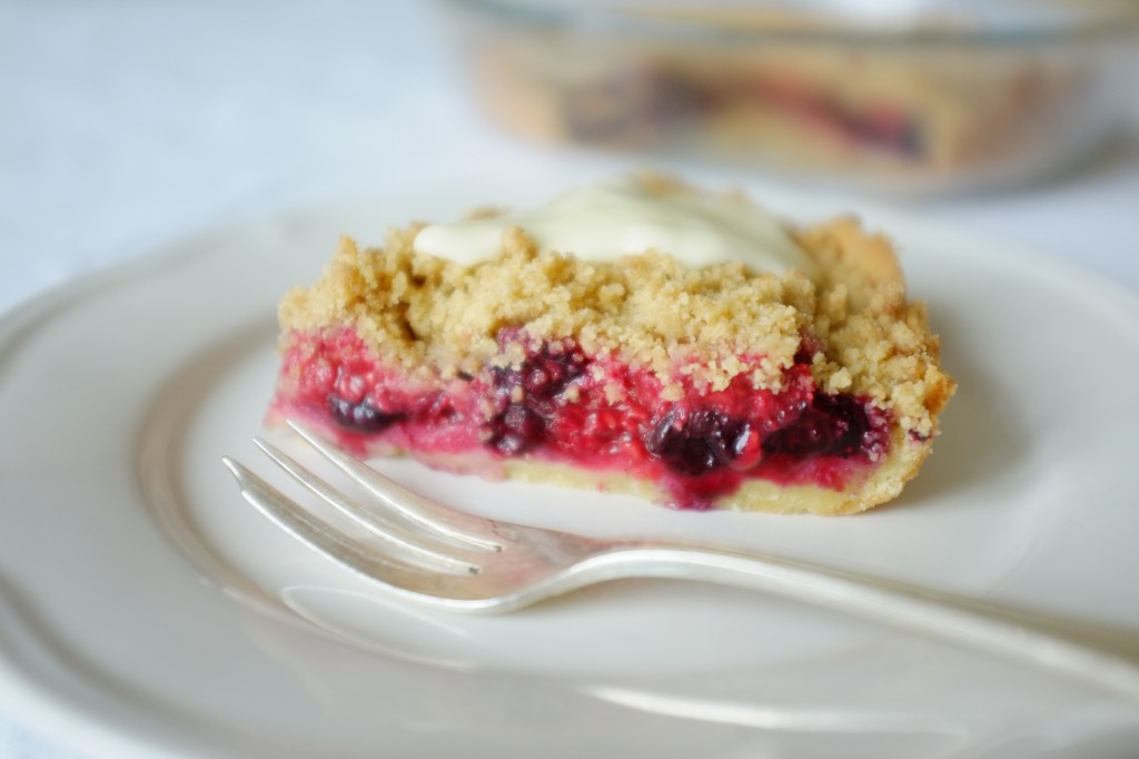 la tarte sans gluten bleu, blanc, rouge