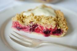 recette sans gluten de tarte bleu, blanc, rouge
