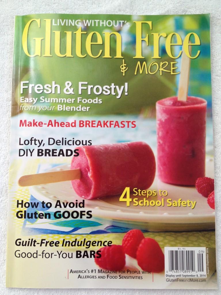 """Le magasine américain """"gluten Free & more"""""""