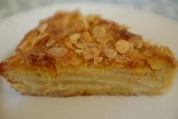 recette sans gluten de gâteau poire et amande