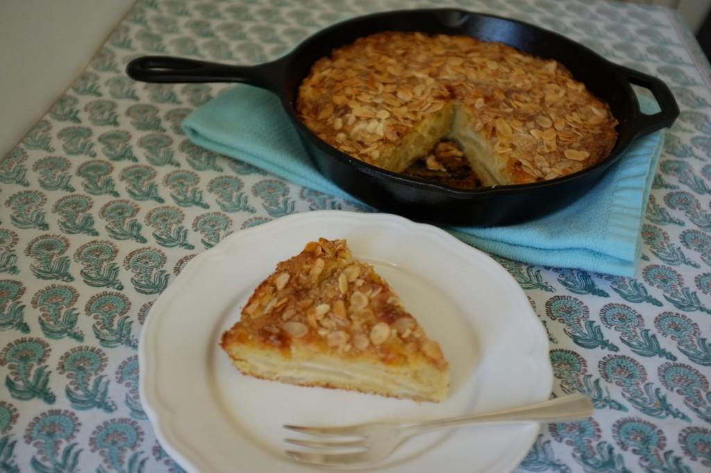 le gâteau sans gluten poire et amande
