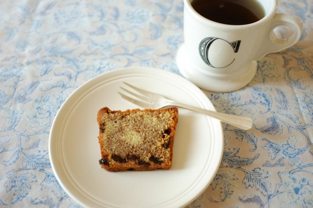 le cake sans gluten raisin et cannelle