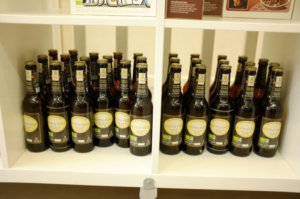Des bières sans gluten