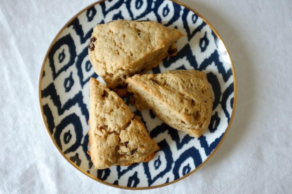 les scones sans gluten raisin et cannelle