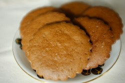 recette sans gluten de biscuit orange-cannelle