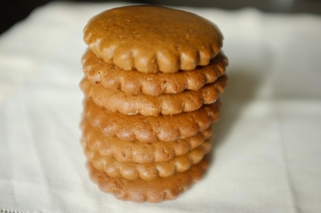 Les bisciuts sans gluten orange-cannelle