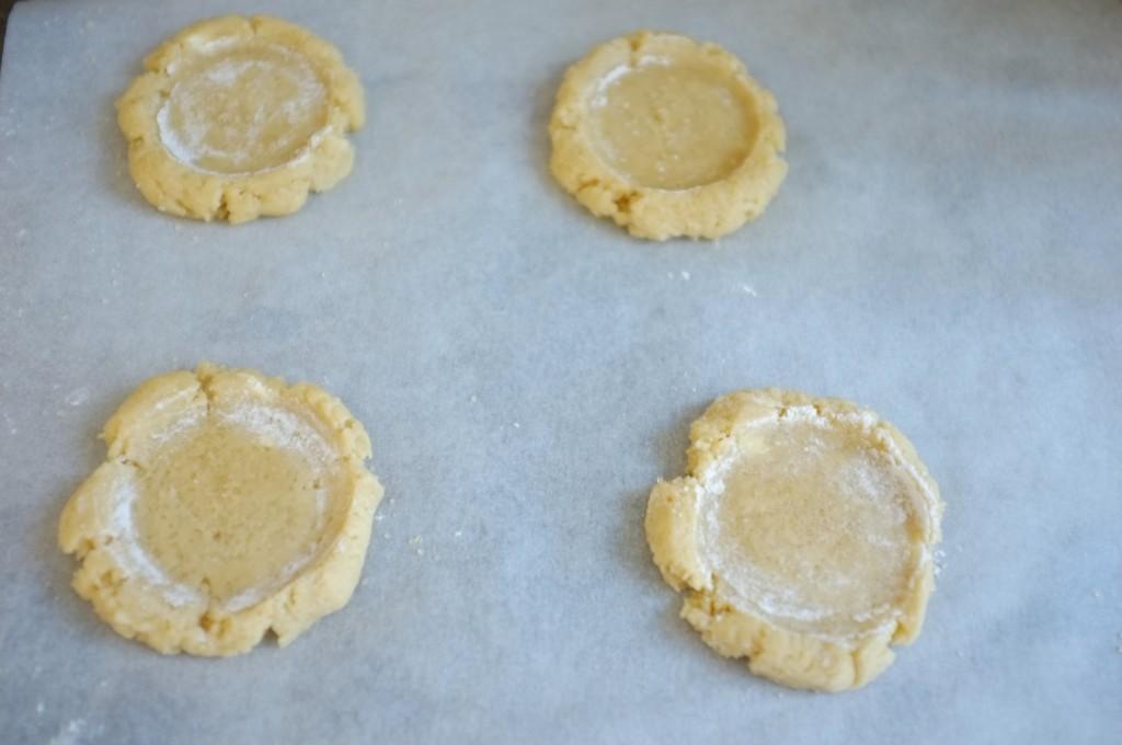 Les cookies sans gluten pour Meredith, avant d'être enfournés