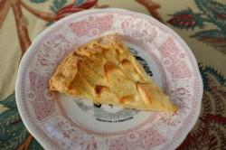 recette sans gluten de tarte rustique aux pommes