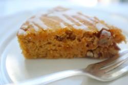 recette sans gluten de gâteau carotte orange