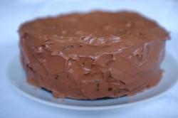 recette sans gluten de gâteau deux étages au chocolat et café