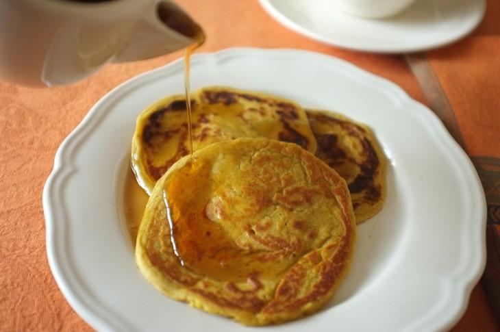 recette sans gluten de pancake au potiron